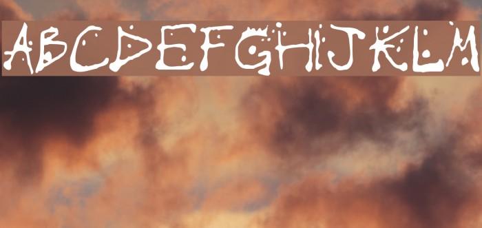 Chump Font examples