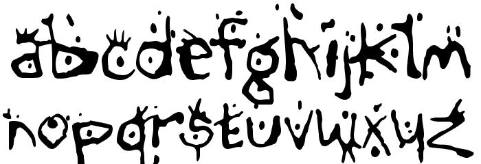 Chump Font LOWERCASE