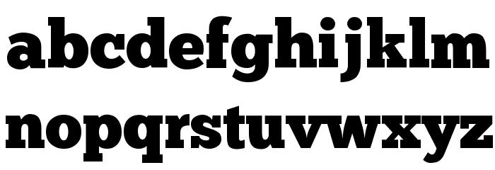 ChunkFive Regular Шрифта строчной