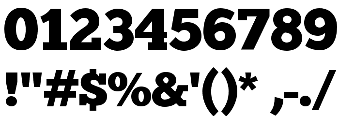 ChunkFive Font OTHER CHARS