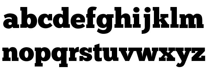 ChunkFive Font LOWERCASE