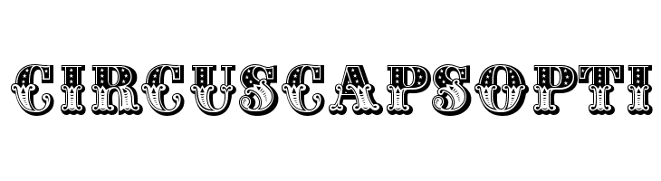 CIRcusCapsOpti  Free Fonts Download