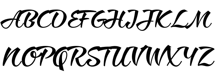 Ciao Baby Regular Font Litere mari