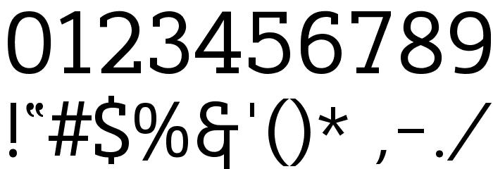 Cicero Serif फ़ॉन्ट अन्य घर का काम