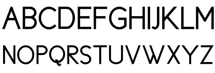 Cicle Gordita Font UPPERCASE