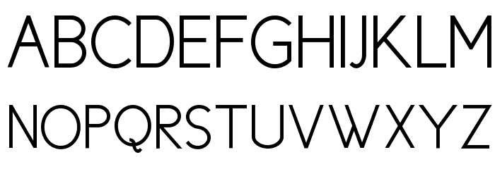 Cicle Semi Font UPPERCASE