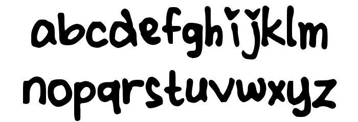 CindyyoBold Шрифта строчной