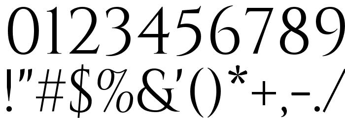 Cinzel Regular Font OTHER CHARS
