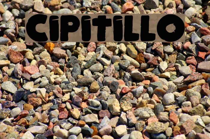 Cipitillo Fonte examples