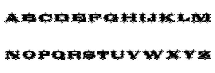 Circus Ornate Font LOWERCASE