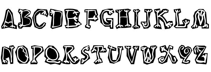 Circus Three Шрифта строчной