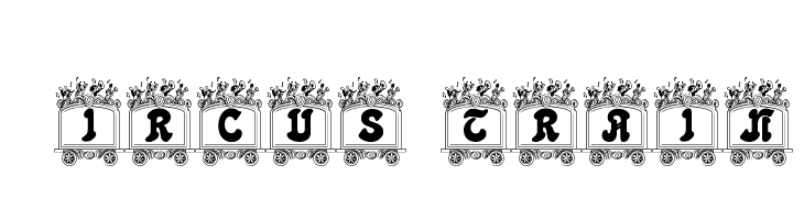 Circus train  Free Fonts Download