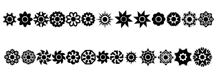 Cirkledingz Font LOWERCASE