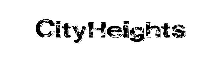 CityHeights  Скачать бесплатные шрифты