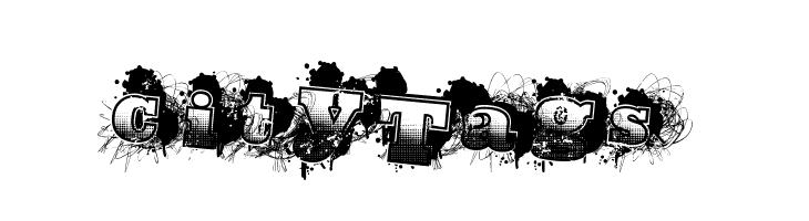 CityTags  Скачать бесплатные шрифты