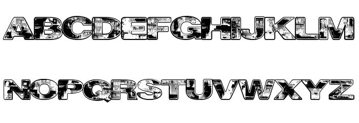 CityVetica Font UPPERCASE