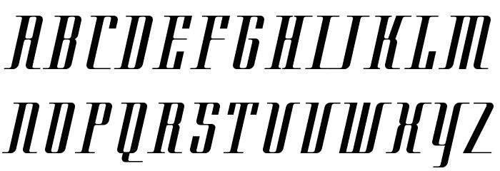 Cityregular Font UPPERCASE
