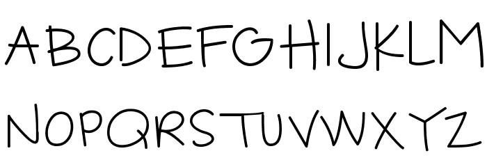 CK Jot Font UPPERCASE