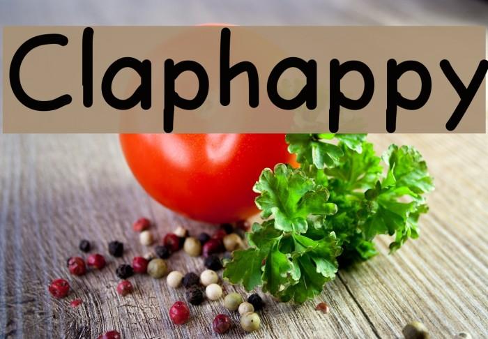Claphappy Fuentes examples
