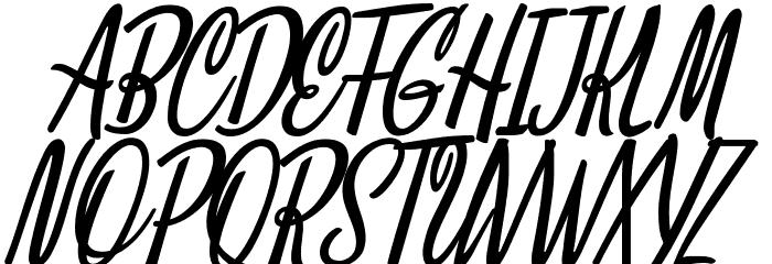 Clarice Italic Personal Use Font Litere mari