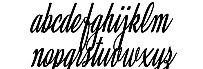 Clarice Italic Personal Use Font Litere mici