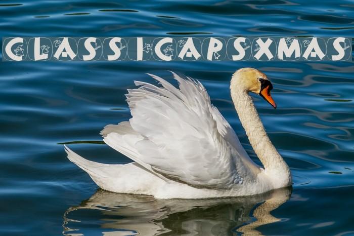 ClassiCapsXmas Font examples