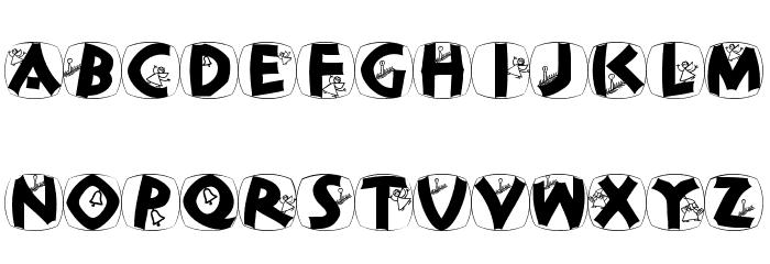 ClassiCapsXmas Font Litere mici