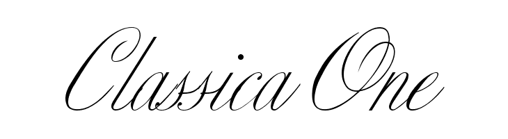 Classica One  Free Fonts Download