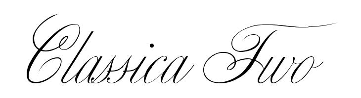 Classica Two  Descarca Fonturi Gratis