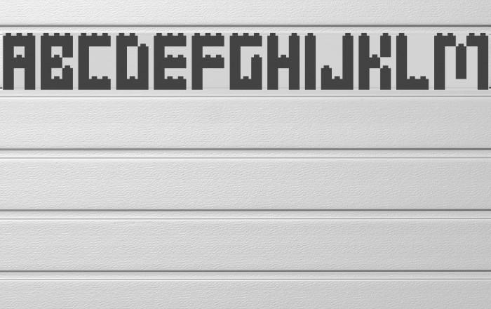 Clicky Bricks Caratteri examples