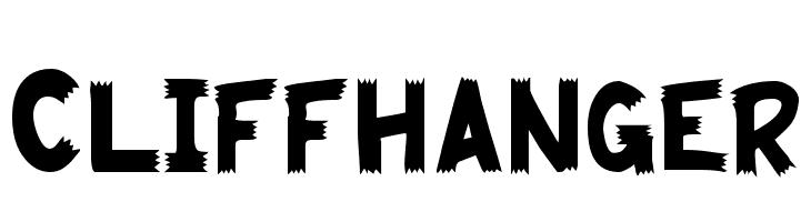 Cliffhanger  font caratteri gratis