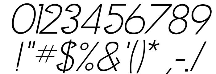 Clocker Italic Fonte OUTROS PERSONAGENS
