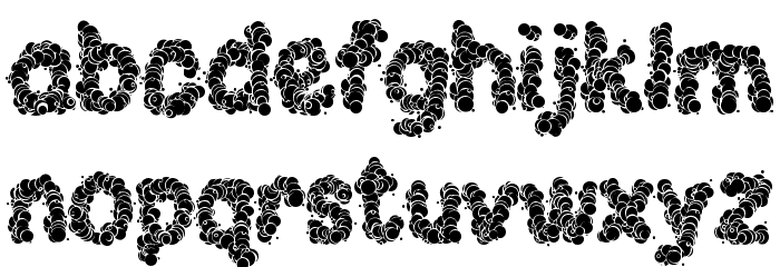 Clouds of Hope LSF Font LOWERCASE