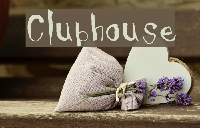Clubhouse Font examples