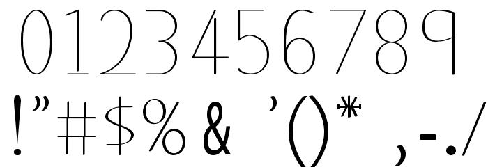 classicman Font OTHER CHARS