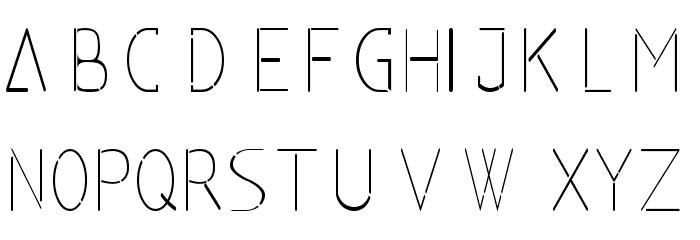 classicman Font UPPERCASE