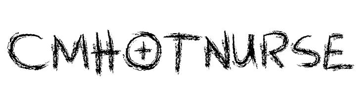 CMHOTNURSE  フリーフォントのダウンロード