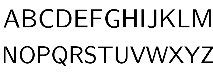 CMU Sans Serif Medium Polices MAJUSCULES