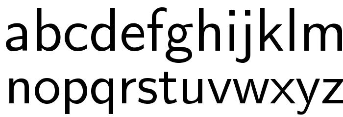 CMU Sans Serif Medium Polices MINUSCULES