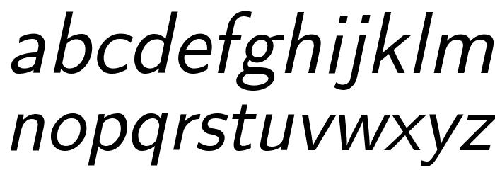 CMU Sans Serif Oblique Polices MINUSCULES