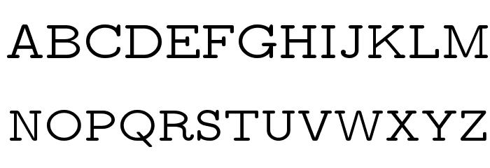 CMU Typewriter Text Variable Width Medium Polices MAJUSCULES