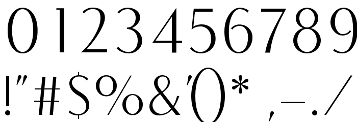 COM4t Fine Regular Font OTHER CHARS