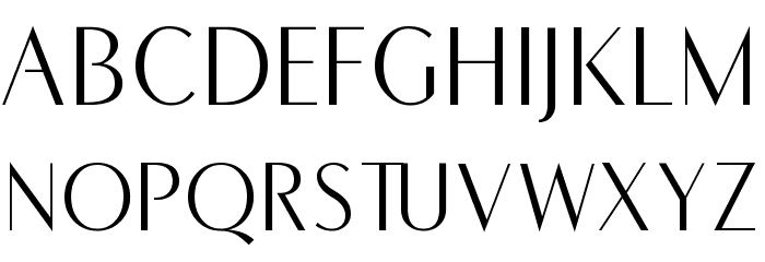 COM4t Fine Regular Font UPPERCASE