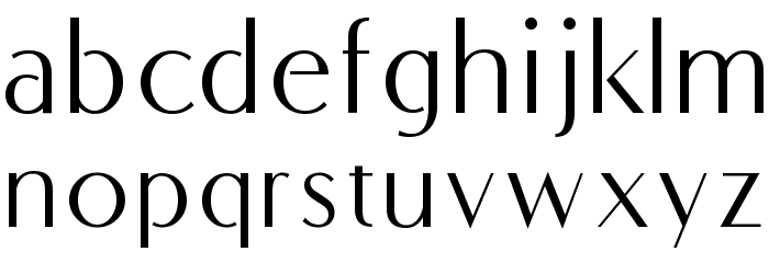 COM4t Fine Regular Font LOWERCASE