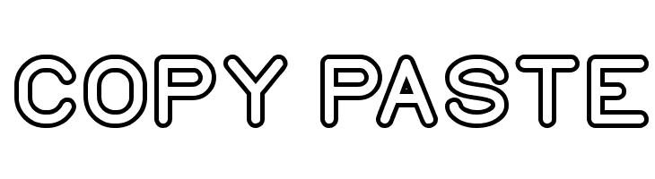 COPY PASTE Font - free fonts download