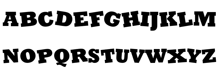Coco Font LOWERCASE