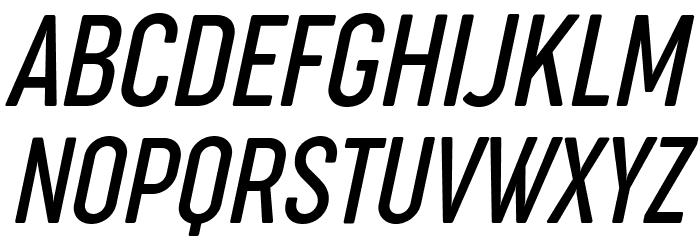 Cocogoose Compressed Trial Light Italic Schriftart Groß