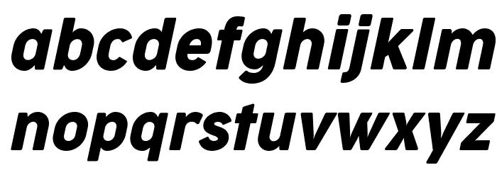 Cocogoose Narrow Trial Italic Schriftart Kleinbuchstaben