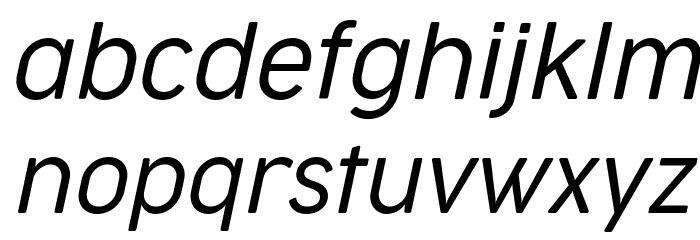 Cocogoose Narrow Trial Light Italic Schriftart Kleinbuchstaben
