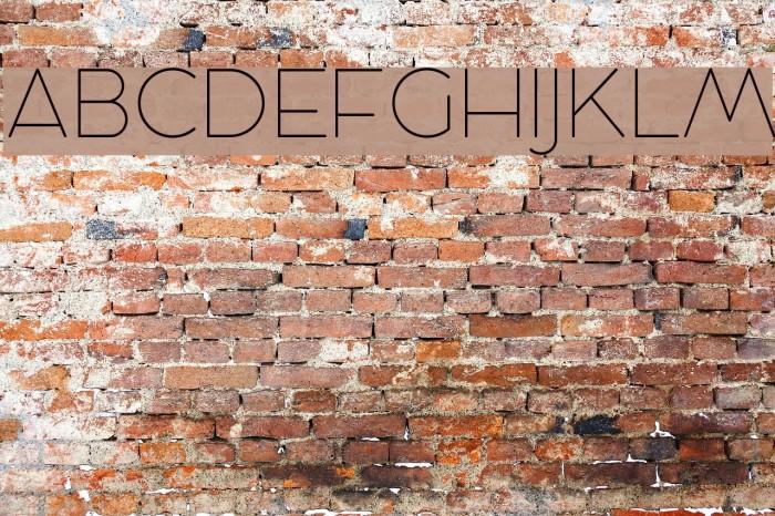 Cocosignum Maiuscoletto UltraLight Schriftart examples